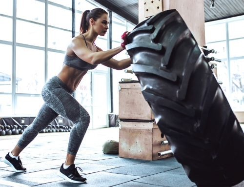 3 Unique Tire-based Exercises